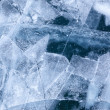 Stock Photo: Baikal ice texture