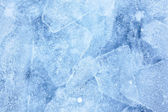 Baikal ice texture — Stock Photo