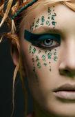 Giovane e bella donna — Foto Stock