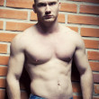 Foto Stock: Bodybuilder