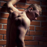 fisiculturista — Foto Stock