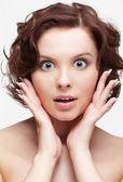 Surprised woman — Foto de Stock