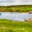 Boats  on the river  — Stockfoto