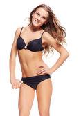Mooie vrouw in bikini — Stockfoto