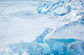 冬天贝加尔湖 — 图库照片