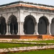 Stock Photo: Pillar Gallery in Agra, Uttar Pradesh, India