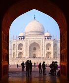 Grand Gates to Taj Mahal — Stock Photo