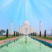 Taj mahal in india — Foto Stock