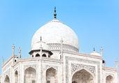 Taj Mahal in India, detail — Стоковое фото