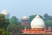 Mughal Garden in front of Taj Mahal — Stock Photo