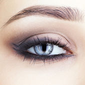 Close-up shot of woman's eye — Stock Photo
