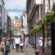 Stonegate street of York, a city in North Yorkshire, England — Stock Photo #40299303