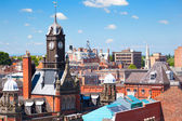 Cityscape of York, a town in North Yorkshire, England — Stock Photo