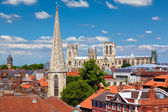Cityscape of York, a town in North Yorkshire, England — Стоковое фото