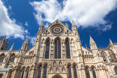 York Minster in North Yorkshire, England — Stock Photo