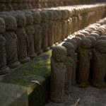Stone monks statues — Stock Photo #40624639