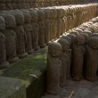 Stone monks statues — Stock Photo #40624665