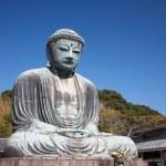 Great Buddha statue in Kamakura — Stock Photo #40624953