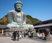 Great Buddha statue in Kamakura — Stock Photo