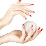 ������, ������: Acrylic nails manicure