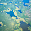 Aerial view on North Yakutia landscapes — Stock Photo #42850837