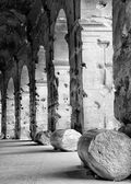 Colonnade of Colosseum — Stock Photo