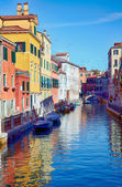 Rio Marin in Cannaregio area, Venice, Italy — Foto de Stock