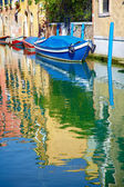 каналах венеции — Стоковое фото