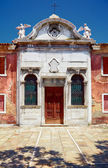 Old Catholic church in Murano, Veneto, Italy — Stock Photo