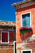 Murano windows, Veneto, Italy — Stock Photo