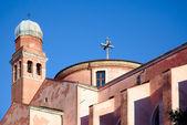 Tolentini igreja em Veneza, Itália — Fotografia Stock