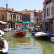 Постер, плакат: View on Rio dei Vetrai in Murano Italy
