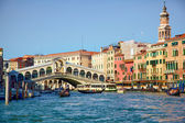 Bridge Ponte Rialto in Venice — Stock Photo