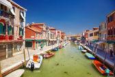 View on Rio dei Vetrai in Murano, Italy — Stock Photo