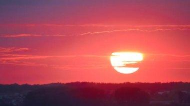 Sunset Timelapse — Stock Video