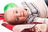 Niño con globo — Foto de Stock