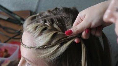 Hairdresser — Stock Video