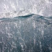 Textura de macro de hielo — Foto de Stock