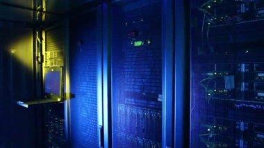Server room — Stock Video