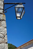 Old lantern. Europe. Montenegro — Stock Photo