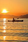 Kayaking in Montenegro — Stock Photo
