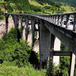 Tara Bridge — Stock Photo