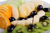 Fruit snack isolated — Stock Photo