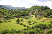 View of countriside in Montenegro — Stock Photo