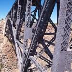 Railroad Bridge over Canyon — Stock Photo #2750217