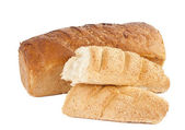 Bread isolated — Stock Photo