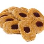 Sweet cookies with jam — Stock Photo #12707512