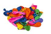 Renk hava balonları izole — Stok fotoğraf