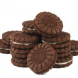 Chocolate cream cookies — Stock Photo #12800907