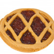 Short pies with jam — Foto de Stock